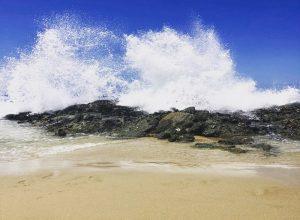 Thousand Steps Beach Splashes